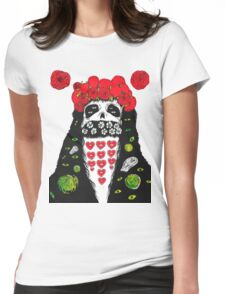 Grimes Artwork #2 Womens Fitted T-Shirt
