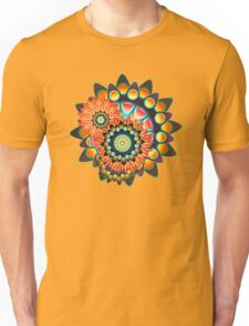 Happy Colorful Psychedelic Cool Funky Pattern Unisex T-Shirt