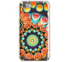 Happy Colorful Psychedelic Cool Funky Pattern iPhone Case/Skin