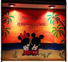 Mickey Minnie Happy Place by kellywilcher