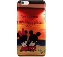 Mickey Minnie Happy Place iPhone Case/Skin