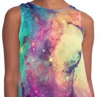 BrIght Colorful Galaxy Contrast Tank