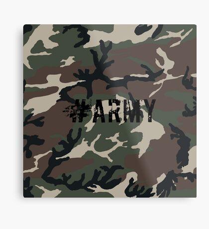 #Army Metal Print