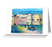 Laigueglia at night Greeting Card