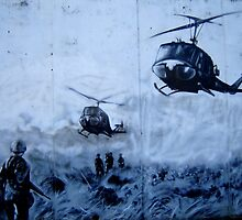Vietnam War Choppers by photroen