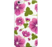 Romantic purple flowers iPhone Case/Skin