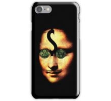 monalisa ill minutia iPhone Case/Skin
