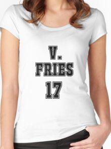 Victor Fries Jersey Women's Fitted Scoop T-Shirt