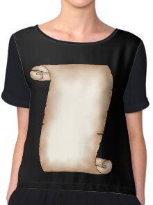 Scroll Chiffon Top