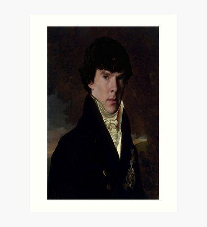 Prince Sherlock Art Print