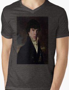 Prince Sherlock Mens V-Neck T-Shirt