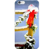 Christmas Snow iPhone Case/Skin