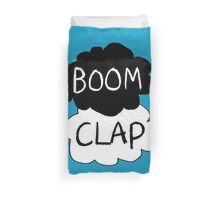 Boom Clap (sound of my heart - TFIOS) Duvet Cover