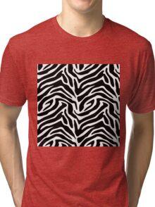 Wild zebra Tri-blend T-Shirt