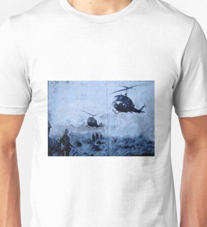 Vietnam War Choppers Unisex T-Shirt