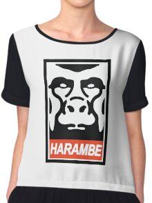 Obey Harambe Chiffon Top