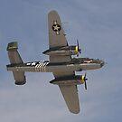 B 24J Mitchell Bomber by Buckwhite