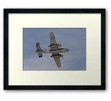 B 24J Mitchell Bomber Framed Print