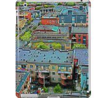Montreal Suburb (vertical) iPad Case/Skin