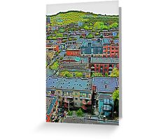 Montreal Suburb (vertical) Greeting Card
