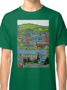 Montreal Suburb (vertical) Classic T-Shirt