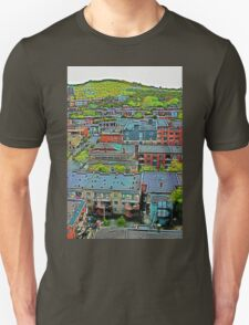 Montreal Suburb (vertical) Unisex T-Shirt