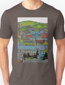 Montreal Suburb (vertical) Unisex T-Shirt