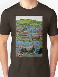 Montreal Suburb (vertical) T-Shirt
