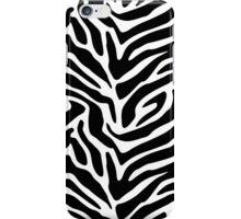 Wild zebra iPhone Case/Skin
