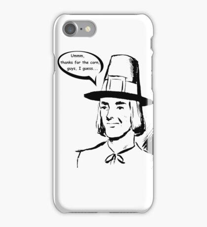Pilgrim - First Thanksgiving - Ironic iPhone Case/Skin