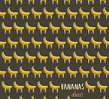 Bananas About Llamas Pattern by AParry