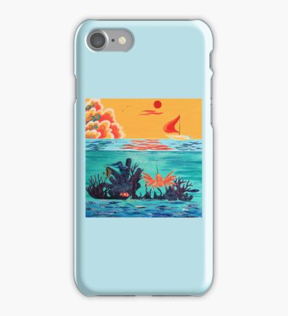 WHAT LIVES BELOW iPhone Case/Skin