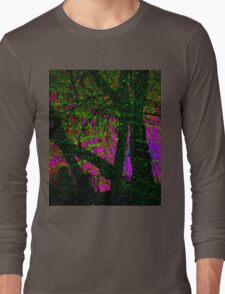 The Psychedelic Forest Long Sleeve T-Shirt