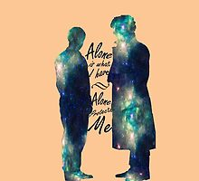 """Johnlock """"ALONE IS WHAT I HAVE"""" by thescudders"""