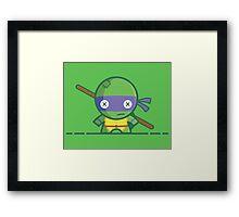 Donatello - Voodoo Dolls Series - TMNT Framed Print