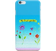 My fruit garden iPhone Case/Skin