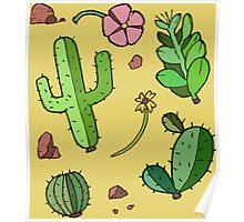 """Desert """"Life"""" Poster"""