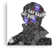 To the gay bar! Canvas Print