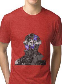 To the gay bar! Tri-blend T-Shirt