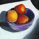 Stoned Fruit in Oils by Amy-Elyse Neer