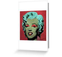 Vampire Marilyn variant 1 Greeting Card