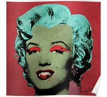 Vampire Marilyn variant 1 Poster