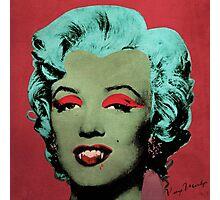 Vampire Marilyn variant 1 Photographic Print