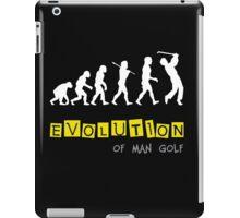 Funny Evolution of Man Golf iPad Case/Skin