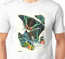 Eugene Seguy 1924 French Butterfly Print Plate 7 Unisex T-Shirt