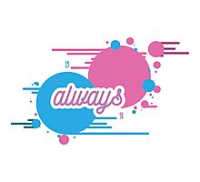 """BLINK 182 INSPIRED - """"ALWAYS"""" Photographic Print"""