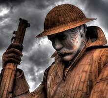 1101 Statue At Seaham #2 by Andrew Pounder