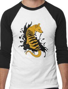 Thylacine Ink Men's Baseball ¾ T-Shirt