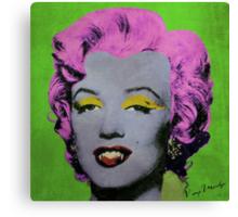 Vampire Marilyn variant 2 Canvas Print