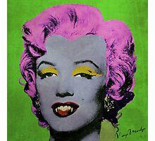 Vampire Marilyn variant 2 Photographic Print